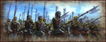 halberd militia