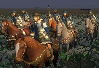 mounted calivermen