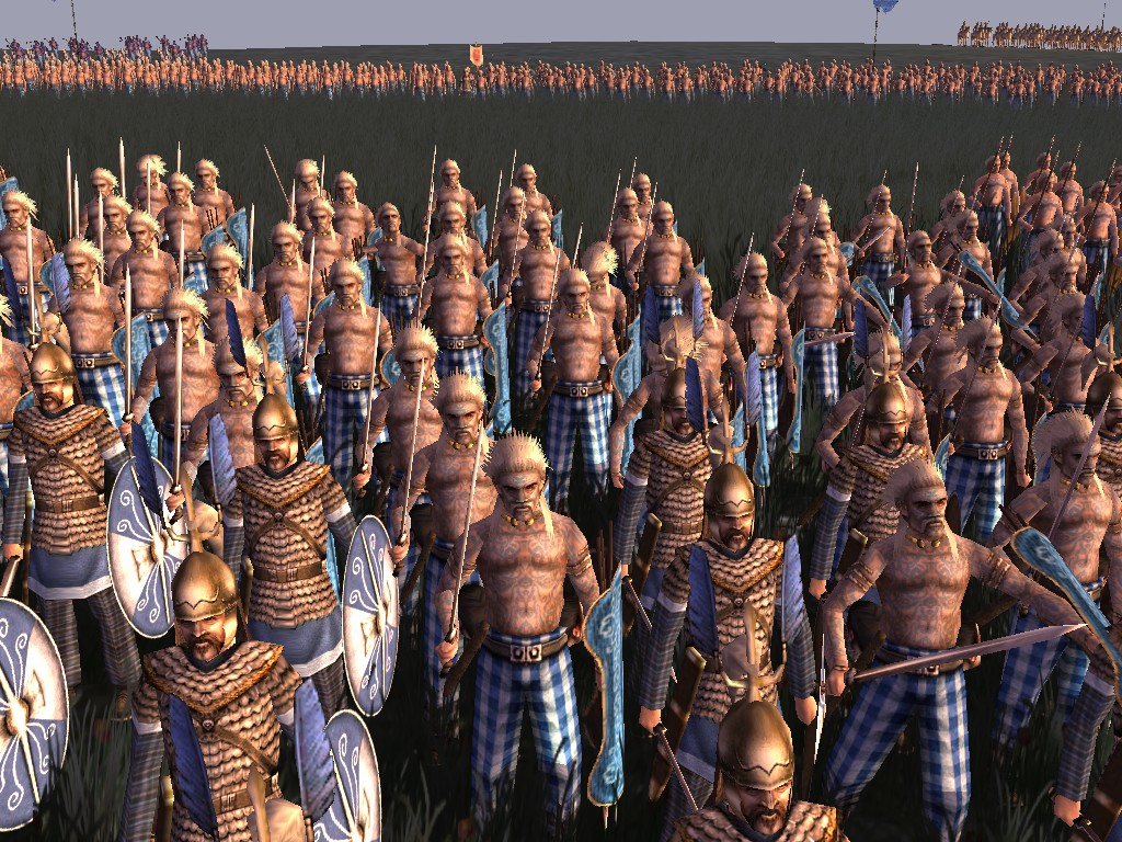 Britons ready for the Fray