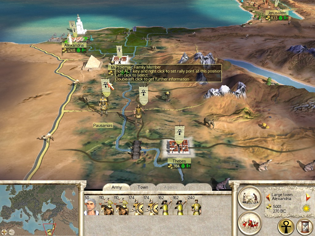Ptolemaic Egypt with new Strat C