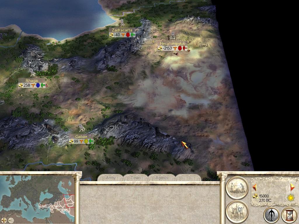 Seleucids have historic lands
