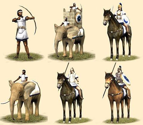 Carthaginian Units