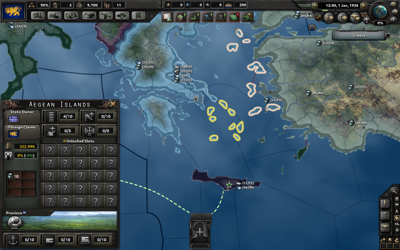 Aegean now set as core.