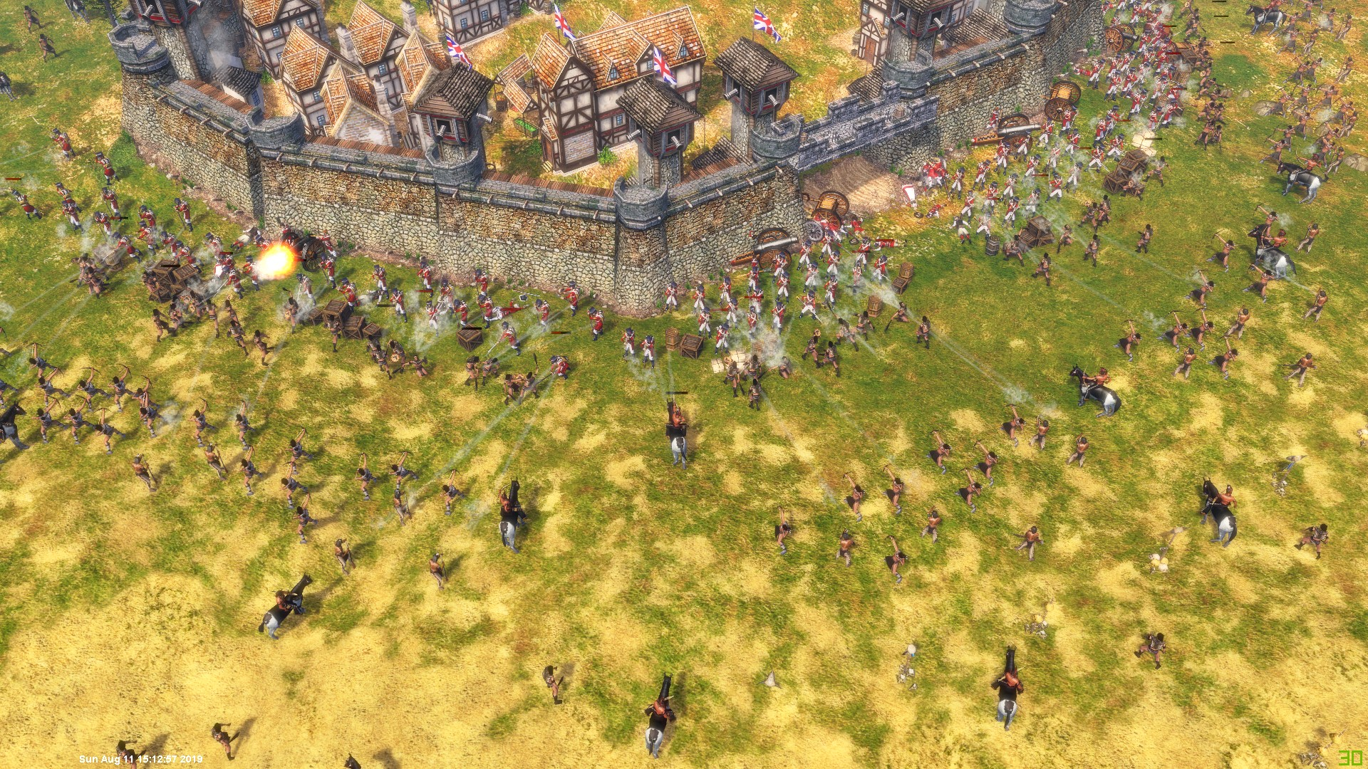AoE3 Unleashed Forst Defense