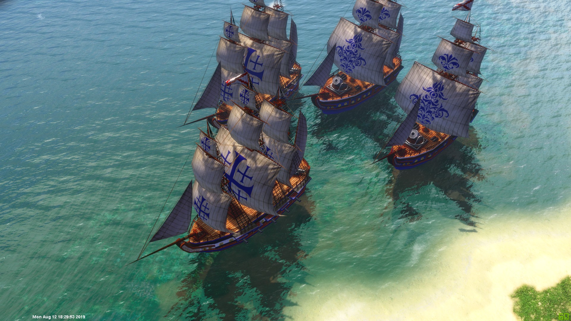 AoE3 Unleashed Ships Updated