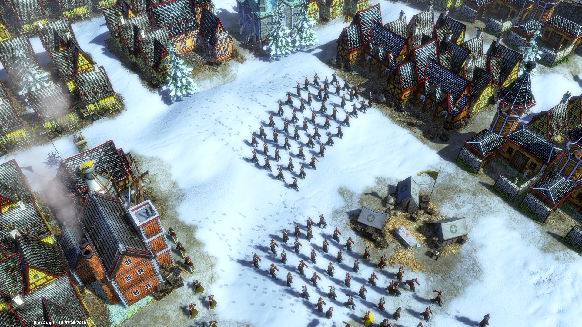 AoE3 Unleashed Winter Army
