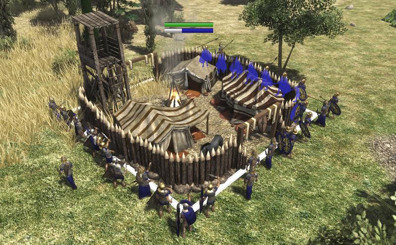 mercenary camps