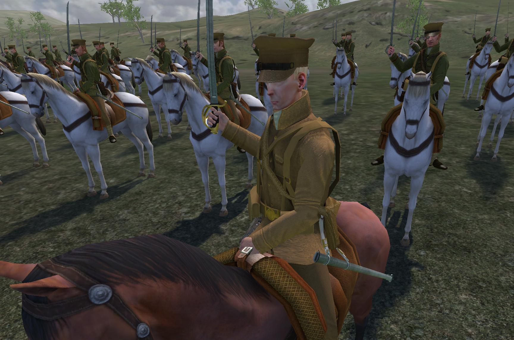 2nd Dragoons 1914