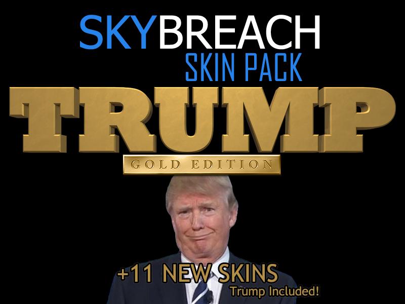 SkyBreach SkinPack 1.4 (Trump Edition)