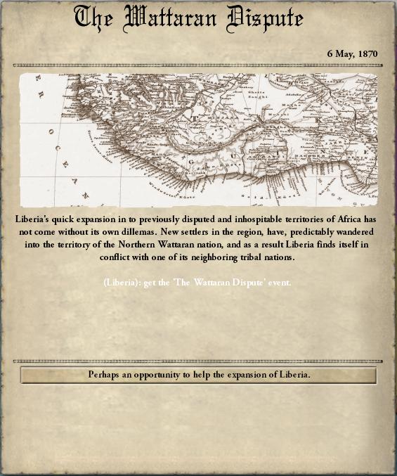 wattaran dispute