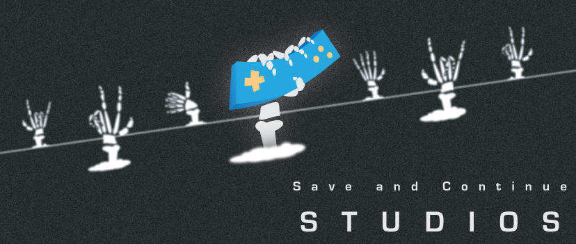 save and continue studios header