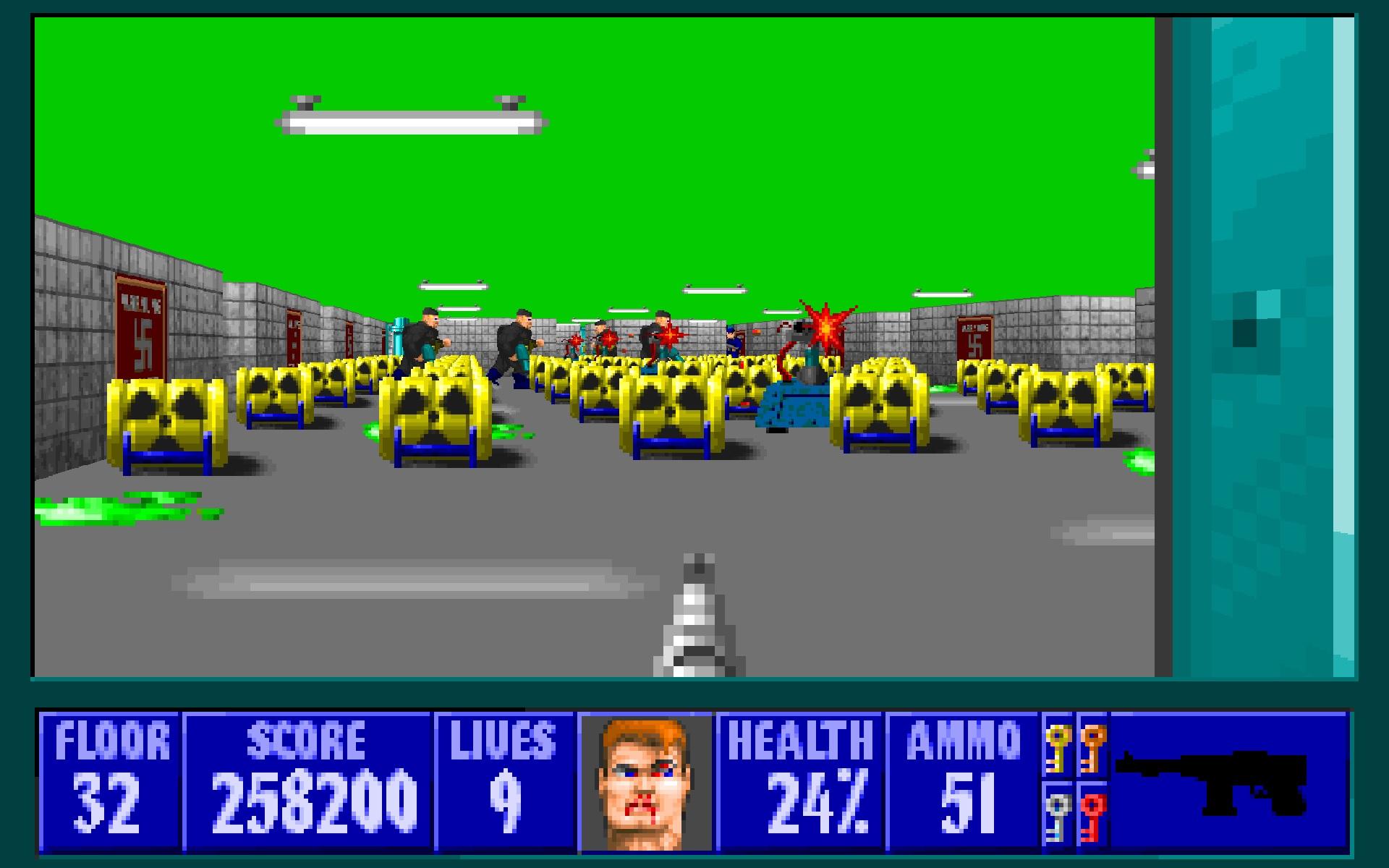 Wolfenstein 3D Windows, DOS Game