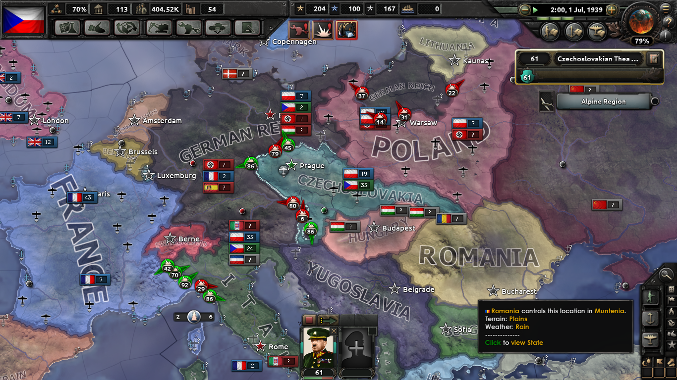 The Sleeping Lion - Czechoslovakia mod for Hearts of Iron IV - Mod DB