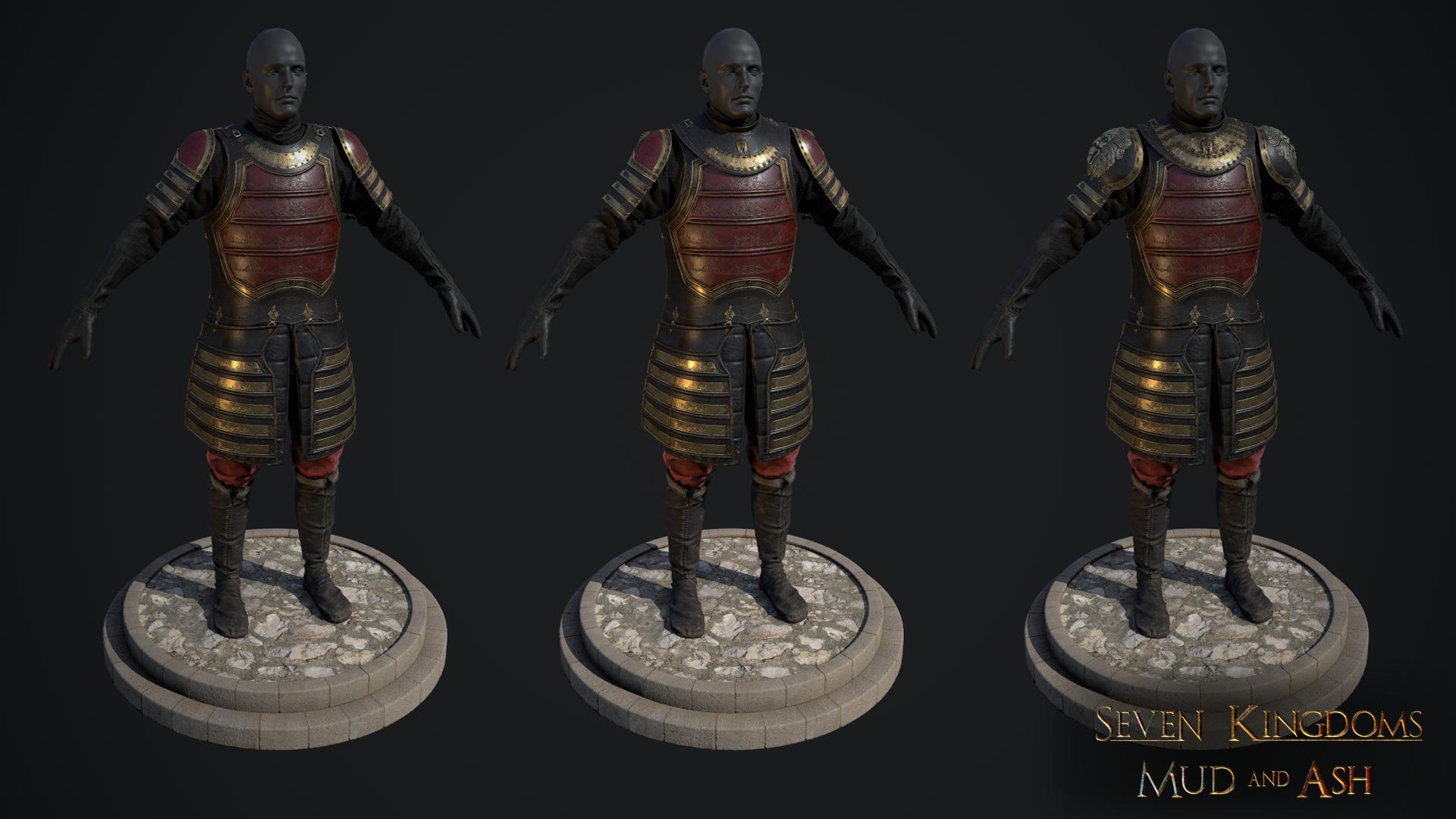 Lannister Armor Variants