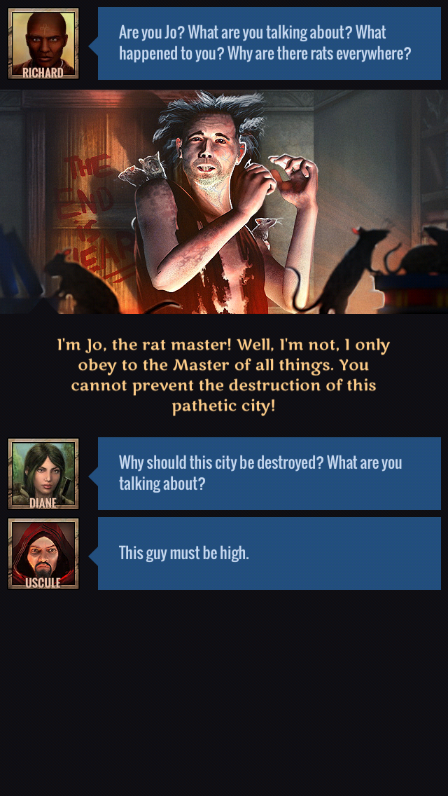 Narrative decisions sway both conversations and gameplay