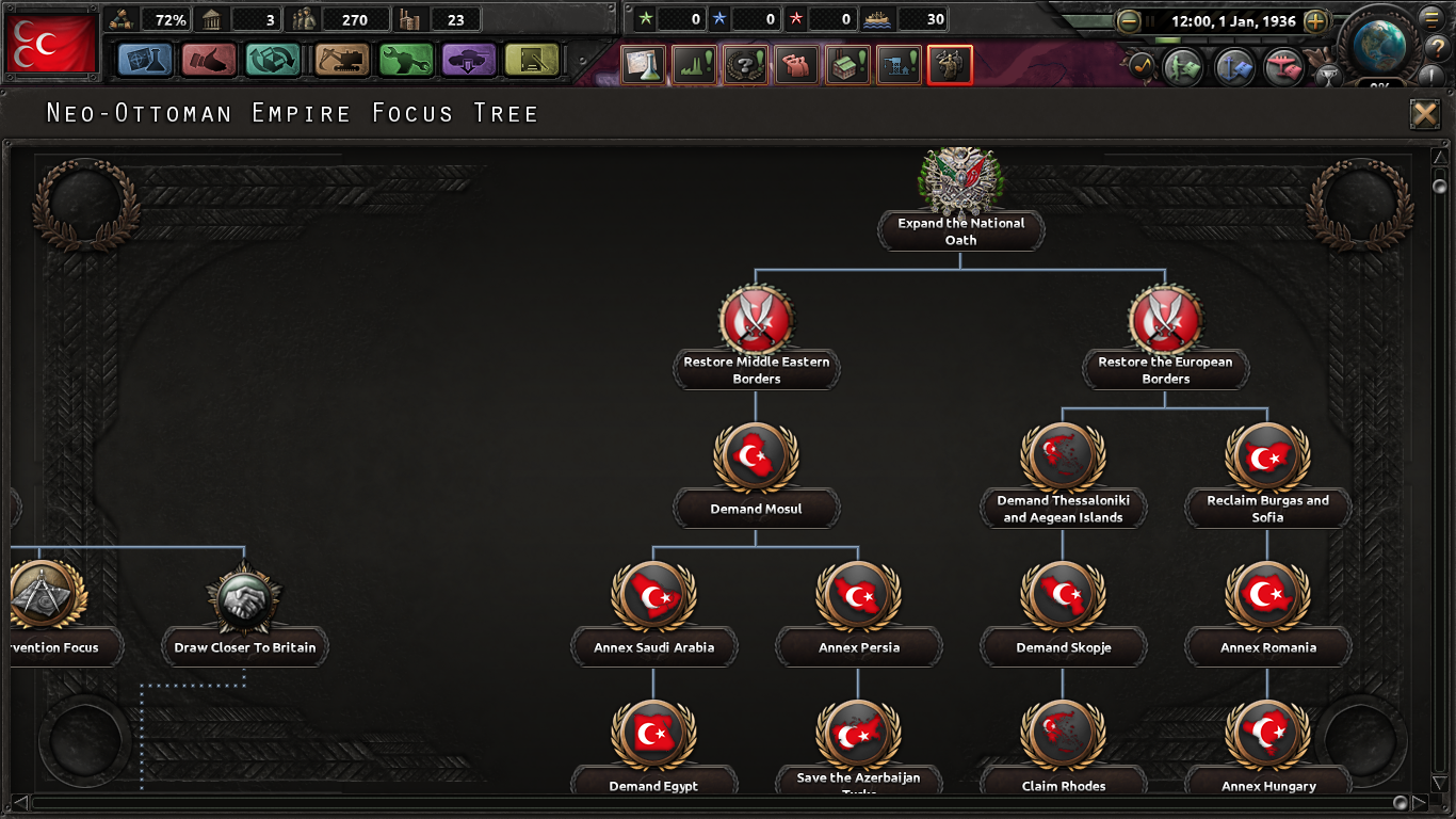 Heirs to Byzantium:The Purple Phoenix Rises! mod for Hearts of Iron