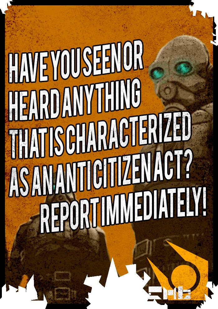 Anti Citizen Poster 1