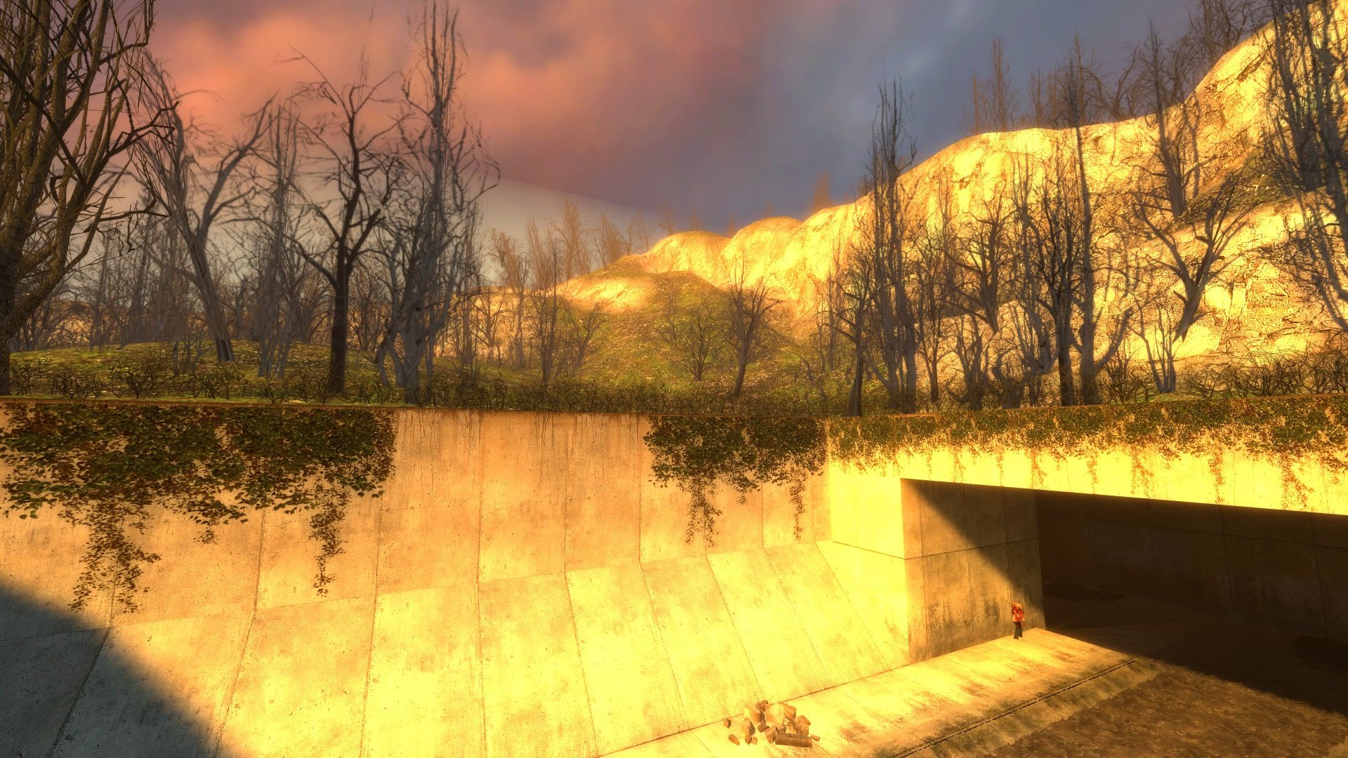 If you like exploring levels with noclip then you will like the maps in this mod.