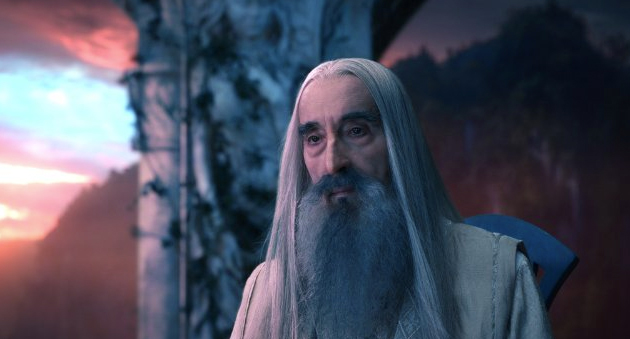 Saruman lord of the rings film