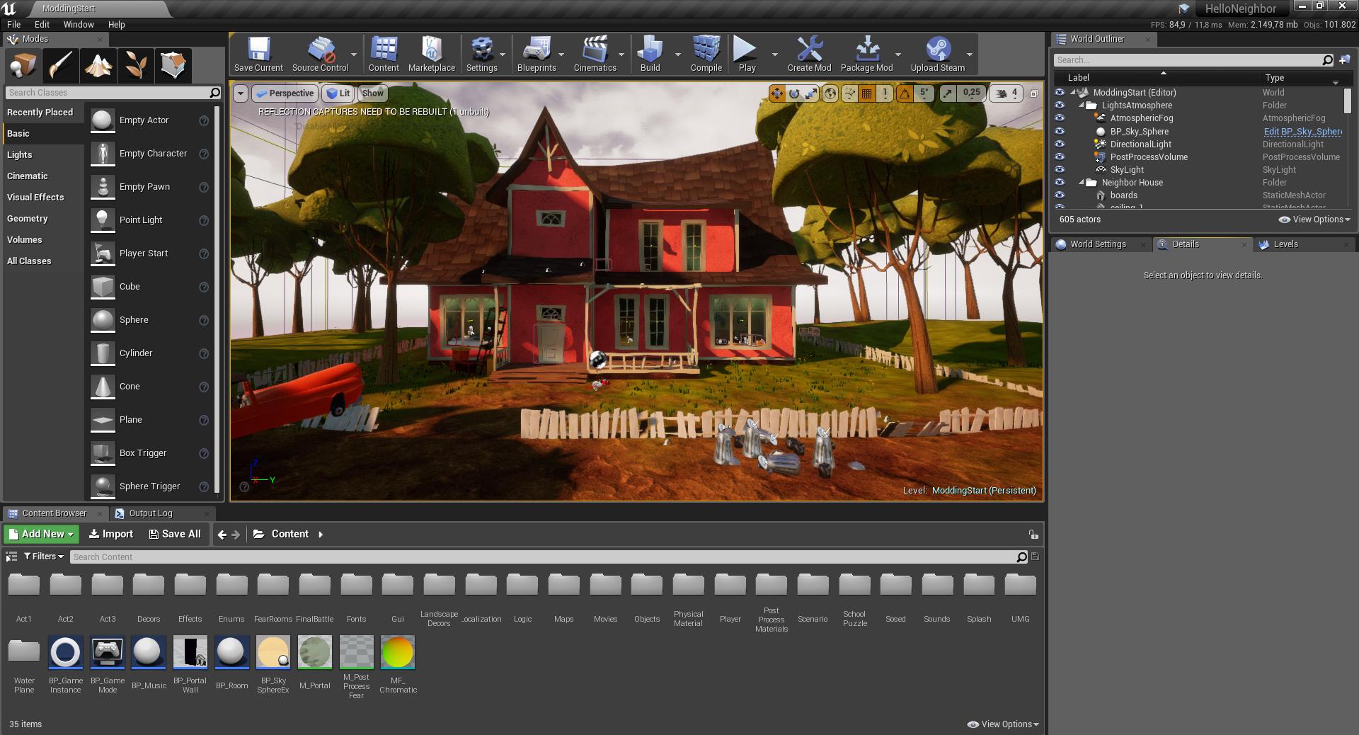 NeighborModKit - Starting Guide tutorial - Unreal Engine 4 Games