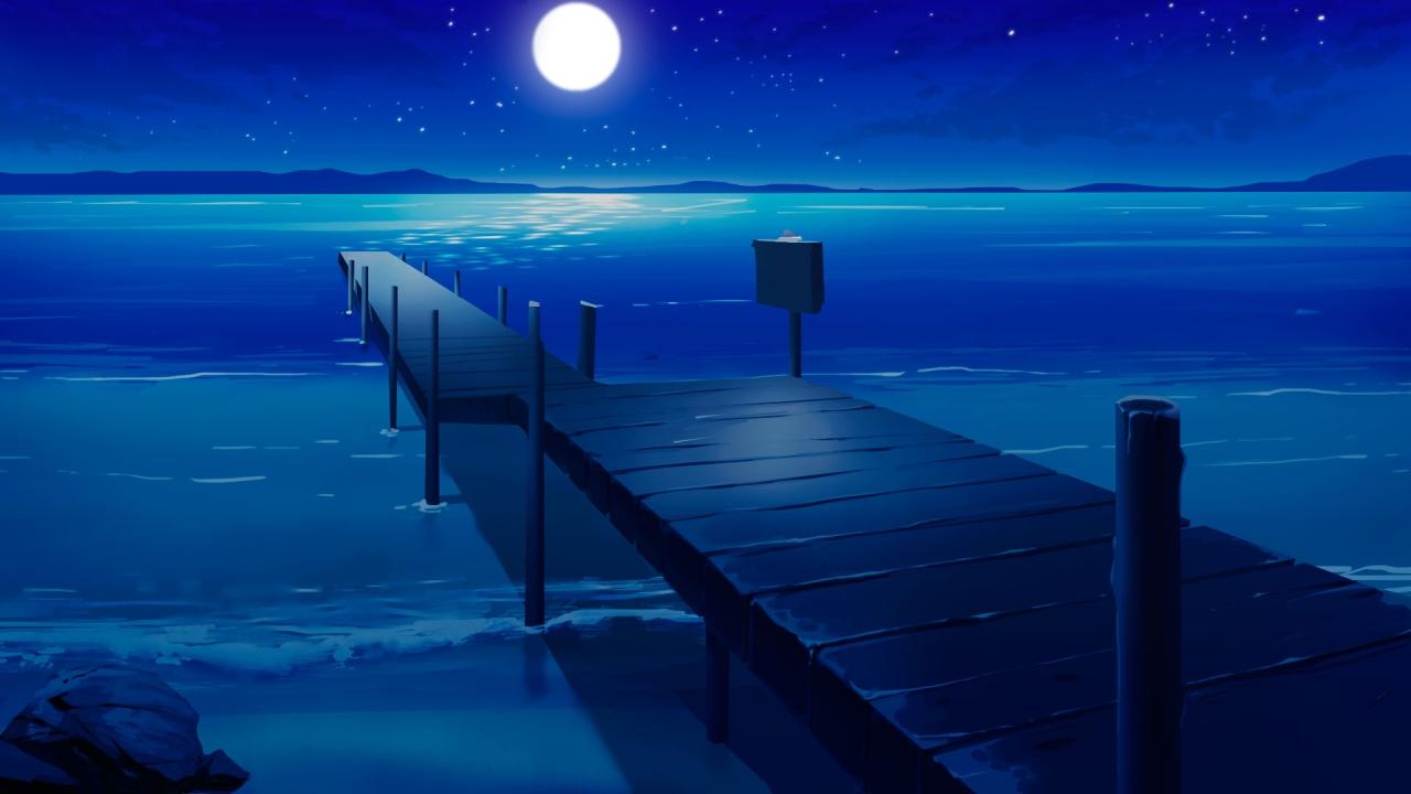 Docks night