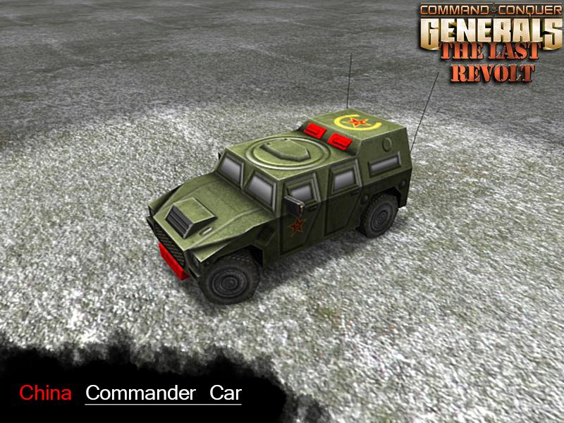 Commander Armored Vehicle render