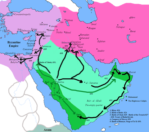 Conquests of Muhammad and the Ra