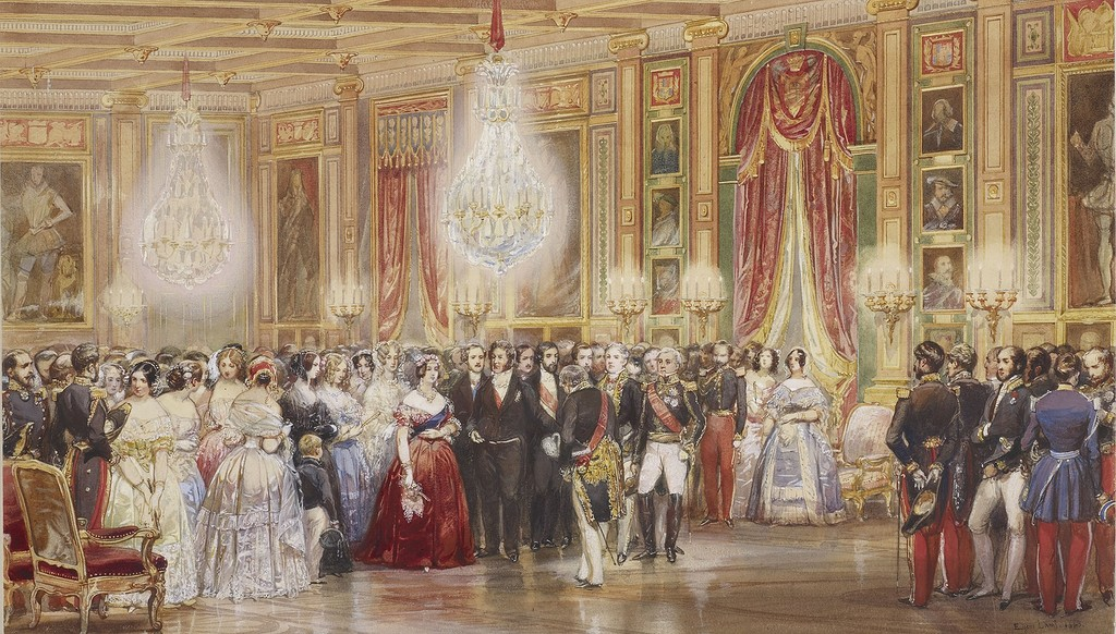 Reception in the Galerie de Guis