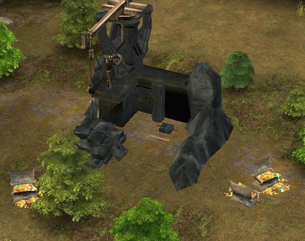 Erebor Stoneworker with Treasure Chests