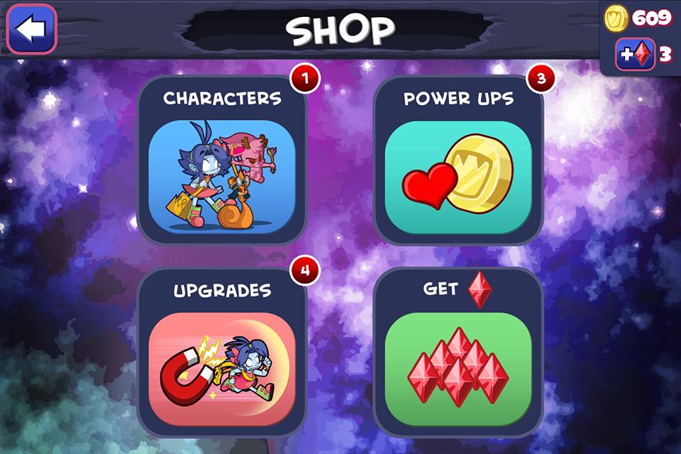 Frombie Run - Shop