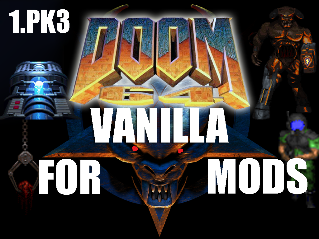 DOOM 64 VANILLA For Mods (1PK3 ONLY) OUT! DOWNLOAD - Mod DB
