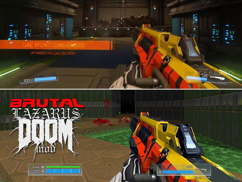 Doom 4 2016 Weapons For Brutal Doom Test 2 Addon – Dibujos Para Colorear