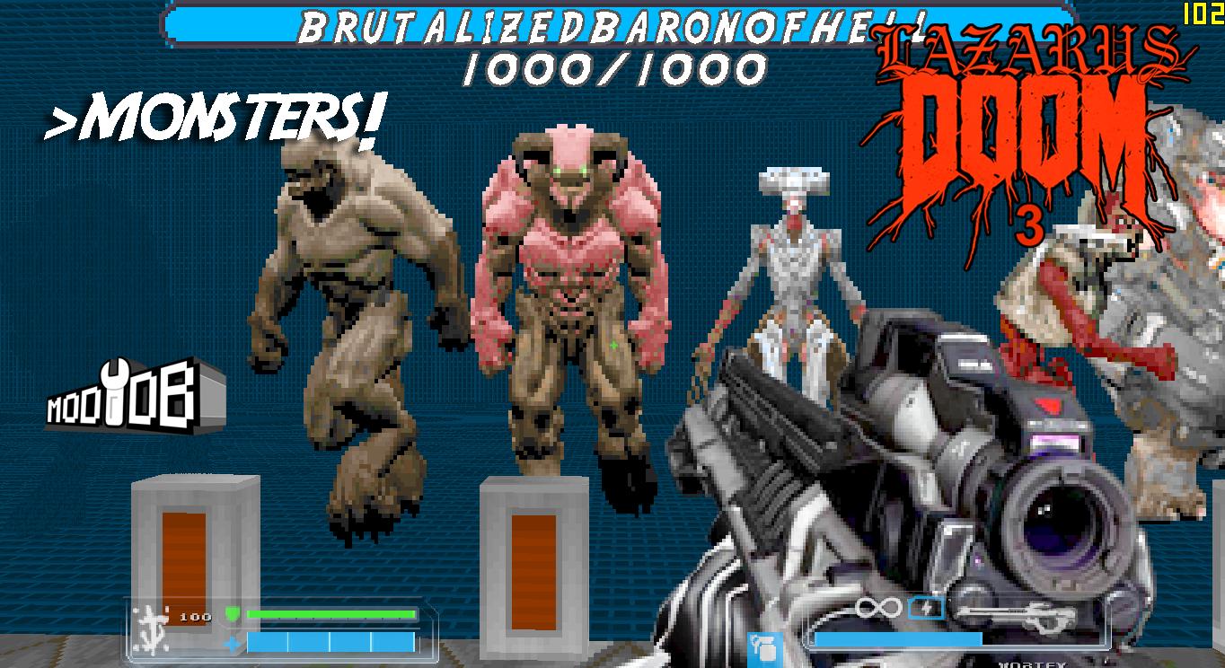 LAZARUS MOD - Doom 4 Weapon Emulation Mod - Mod DB