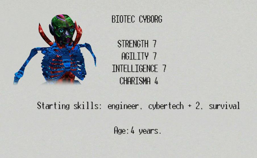 biotec race - Paradigm Worlds 1.99
