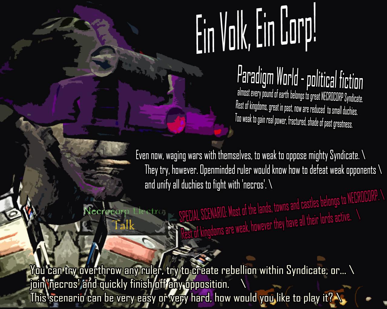 NecroCorp Poster