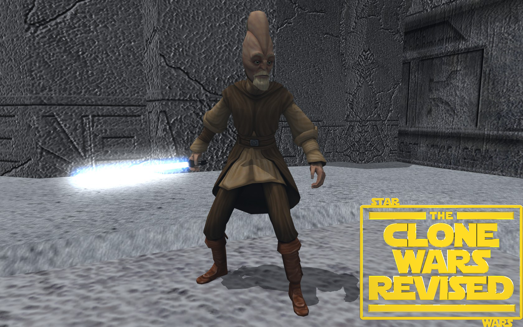 Ki Adi Mundi rigged by S1thK3n