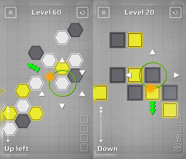 Chain Reaction in action! Chain Reaction is now available for download on Google Play!