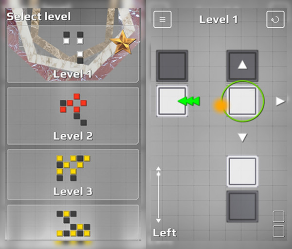 Chain Reaction in action! Chain Reaction is available for download on Google Play!