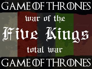 Five Kings temp cover
