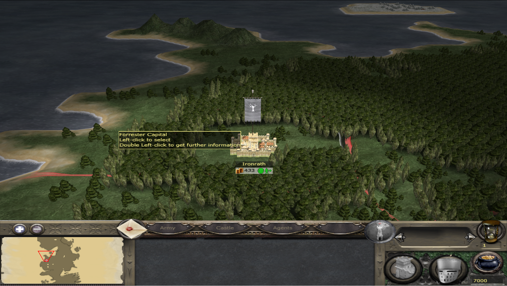 You can play as House Forester