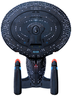 Galaxy-Class exploration cruiser