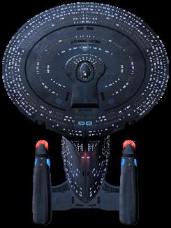 Galaxy-Class exploration cruiser