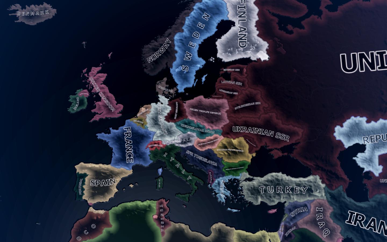 urope Map 1