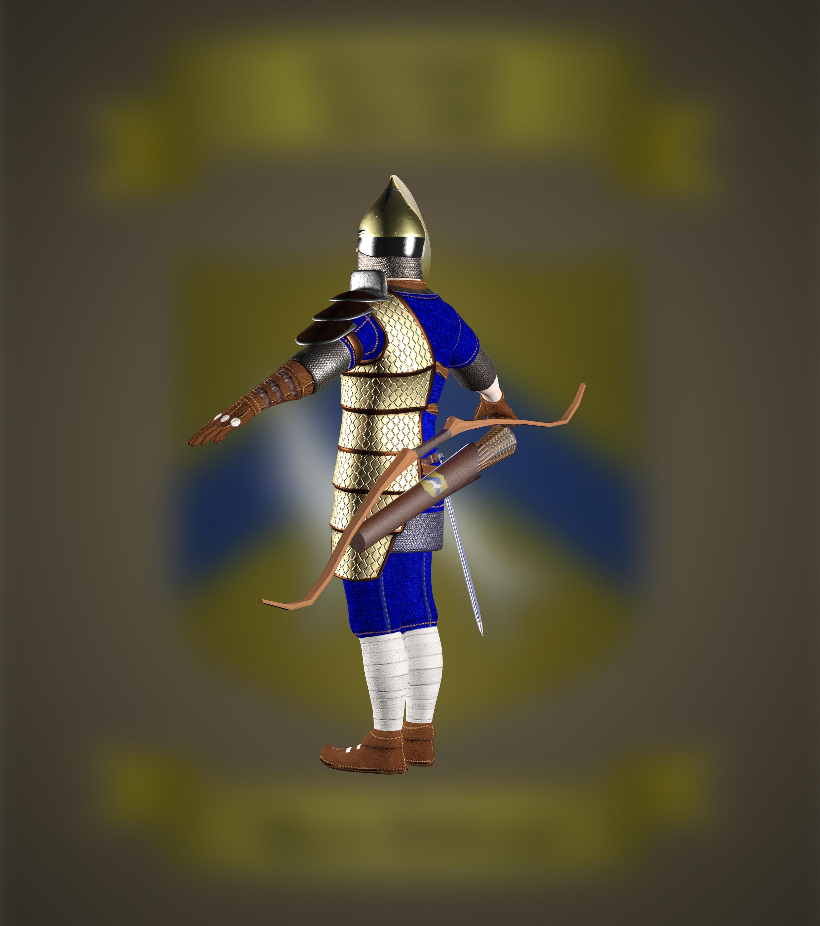 Norse Archer Showcase News Modern Myths Mod For Total War Attila