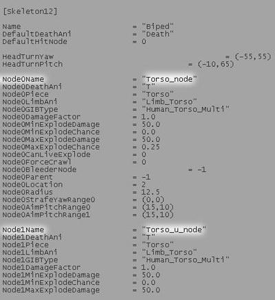 node name