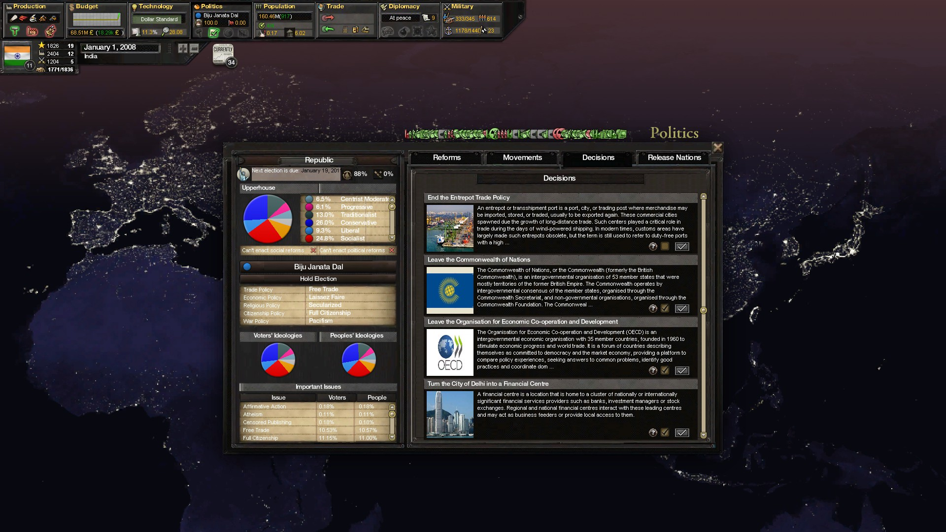Victoria 2 Cold War Enhancement Mod - Mod DB