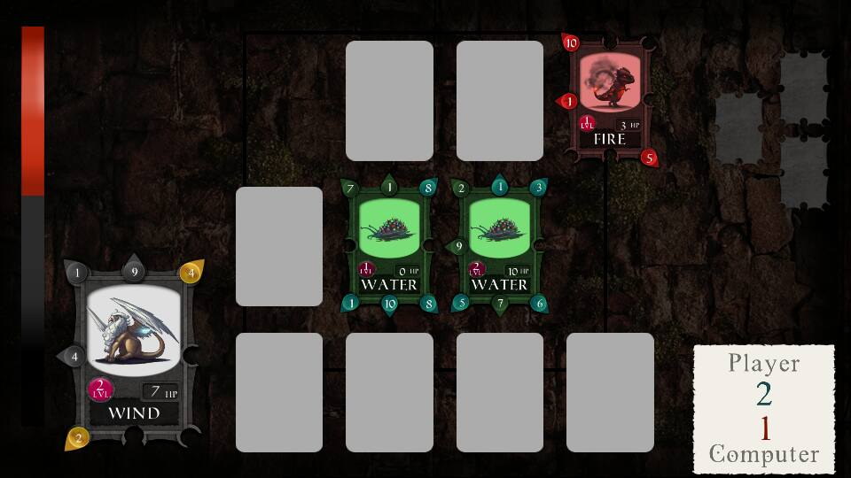 battle screen