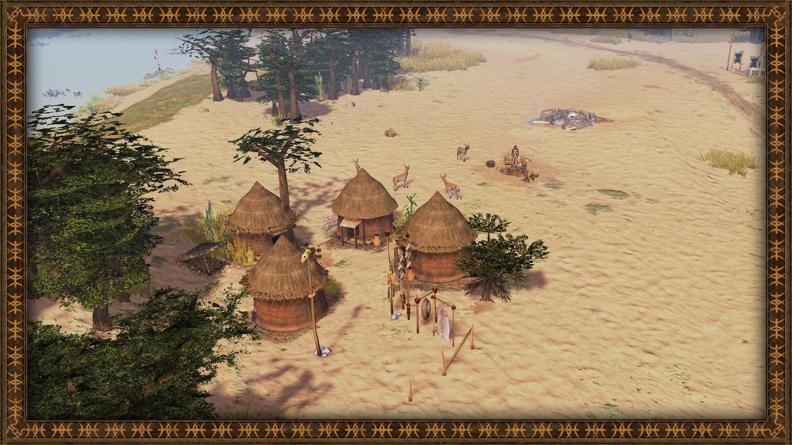 Bantu village