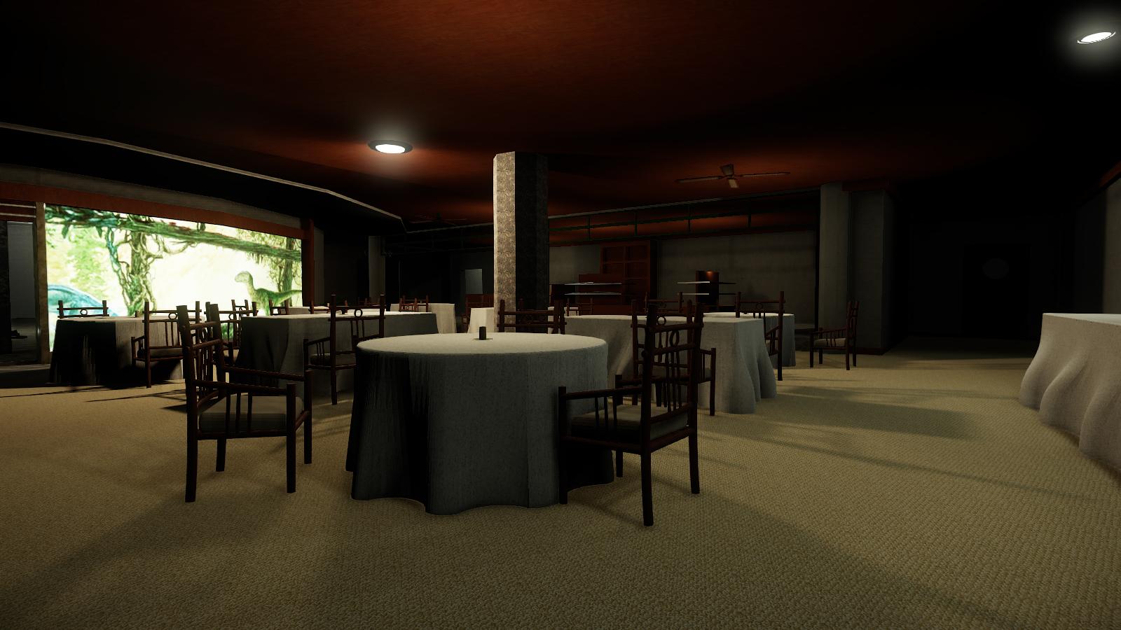 Visitor Centre Restaurant (not finished)