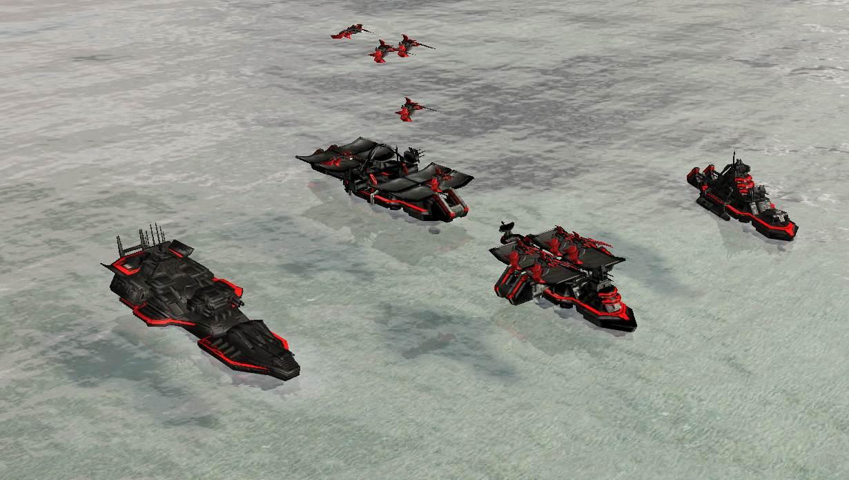 Cybran Escort Carrier